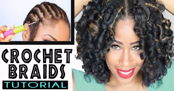 Crochet Braids Exercise : How To: CROCHET BRAIDS w/ MARLEY HAIR ! (ORIGINAL no-rod technique ...