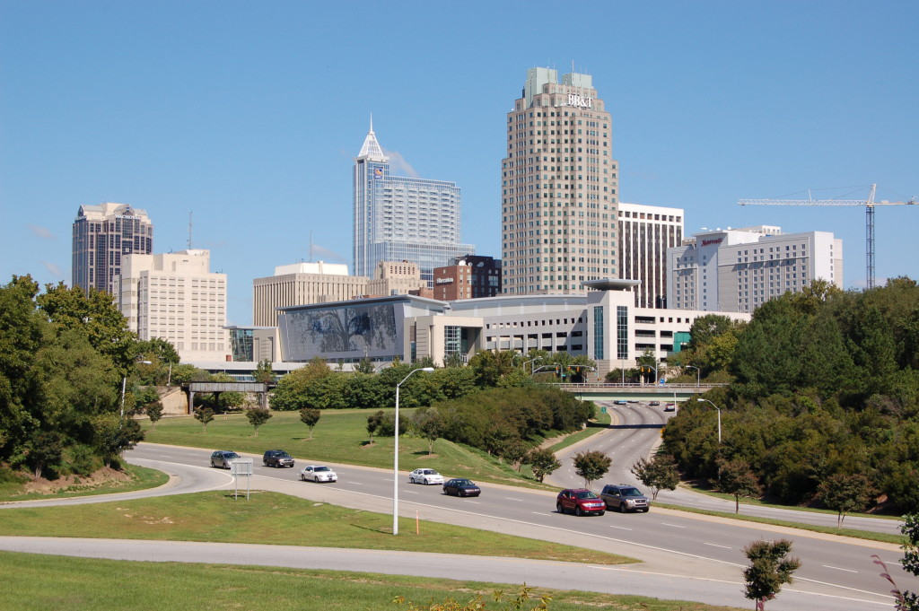 Downtown-Raleigh-from-Western-Boulevard-Overpass-20081012