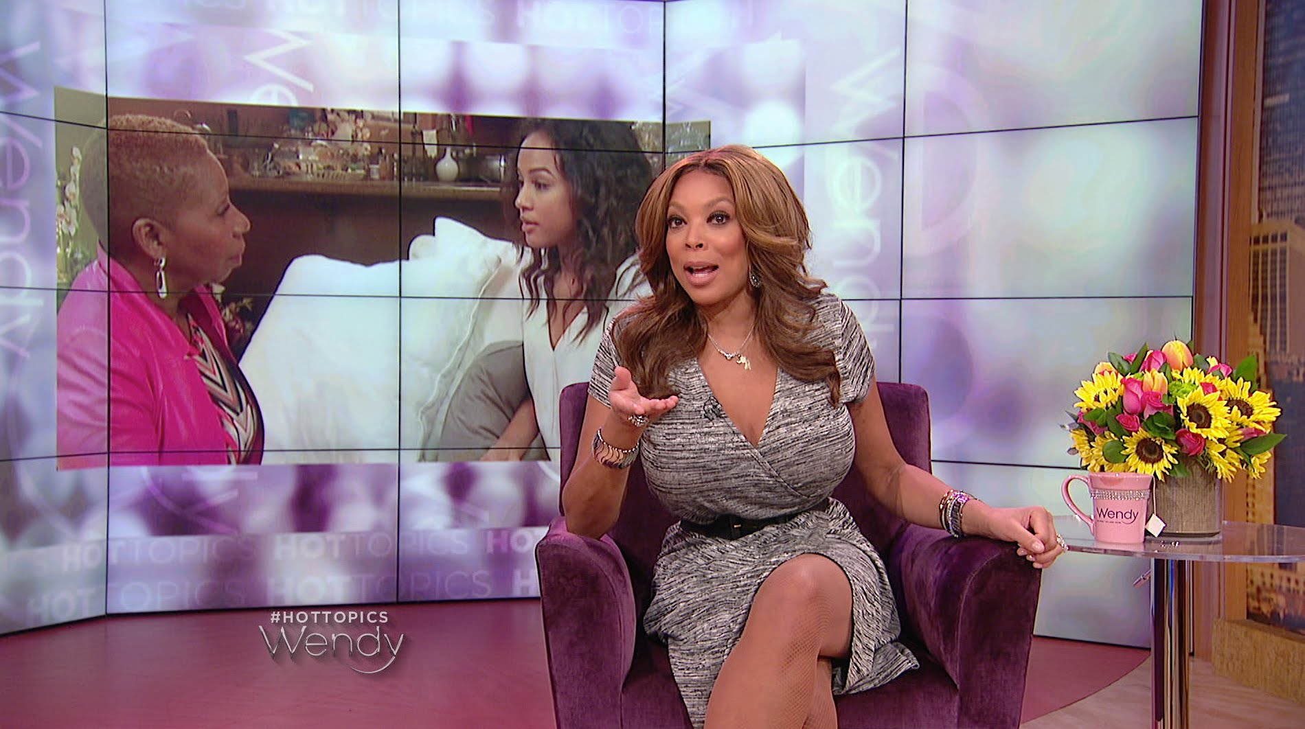 Wendy Williams Goes In on Oprah over Karrueche Tran