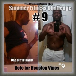 Houston Vines Summer Fitness Challenge