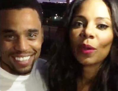 Michael Ealy and Sanaa Lathan Suprise Audience