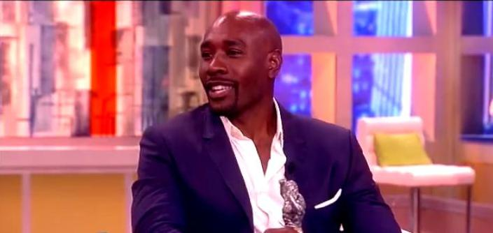 Morris Chestnut Talks with the View  Playing James Bond