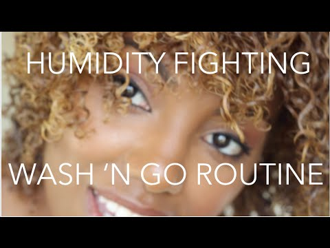 Humidity Fighting Defined Curly Hair Routine with Kayla G