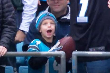 Cam gives away Football