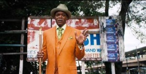 Actor Samuel Jackson starring in Chi-Raq. 40 Acres and a Mule Filmworks
