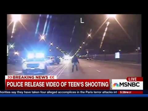Graphic Dash Cam Shows Chicago Police Officer Shooting Laquan McDonald