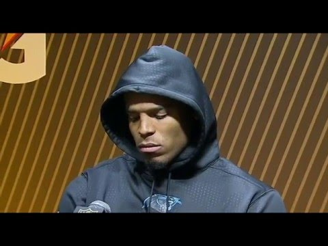 No Apology from Cam Newton  for Postgame Press Conference