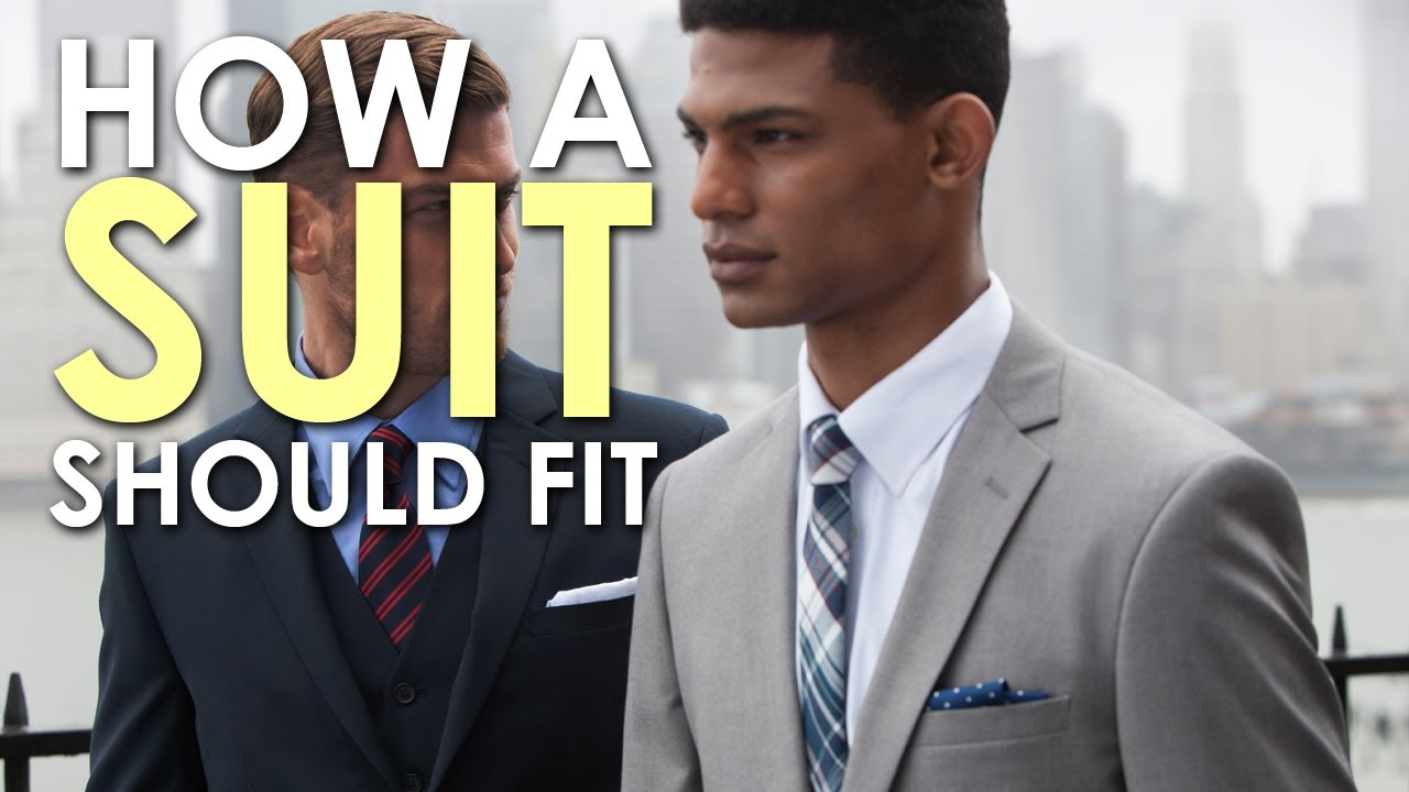 How Should a Slim Suit Fit ? Follow this Guide [Video]