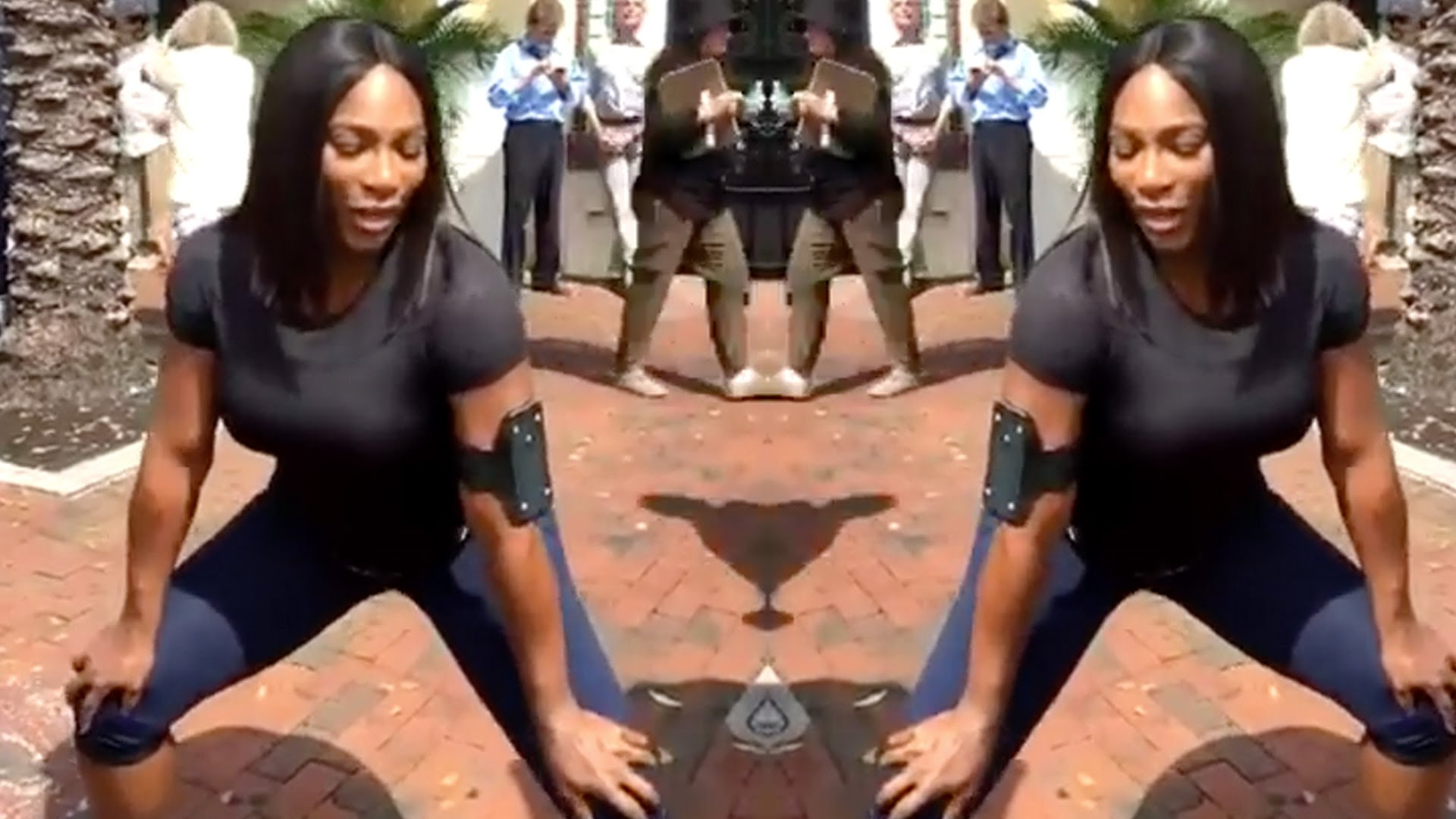 Serena Williams Gives Twerking Lessons