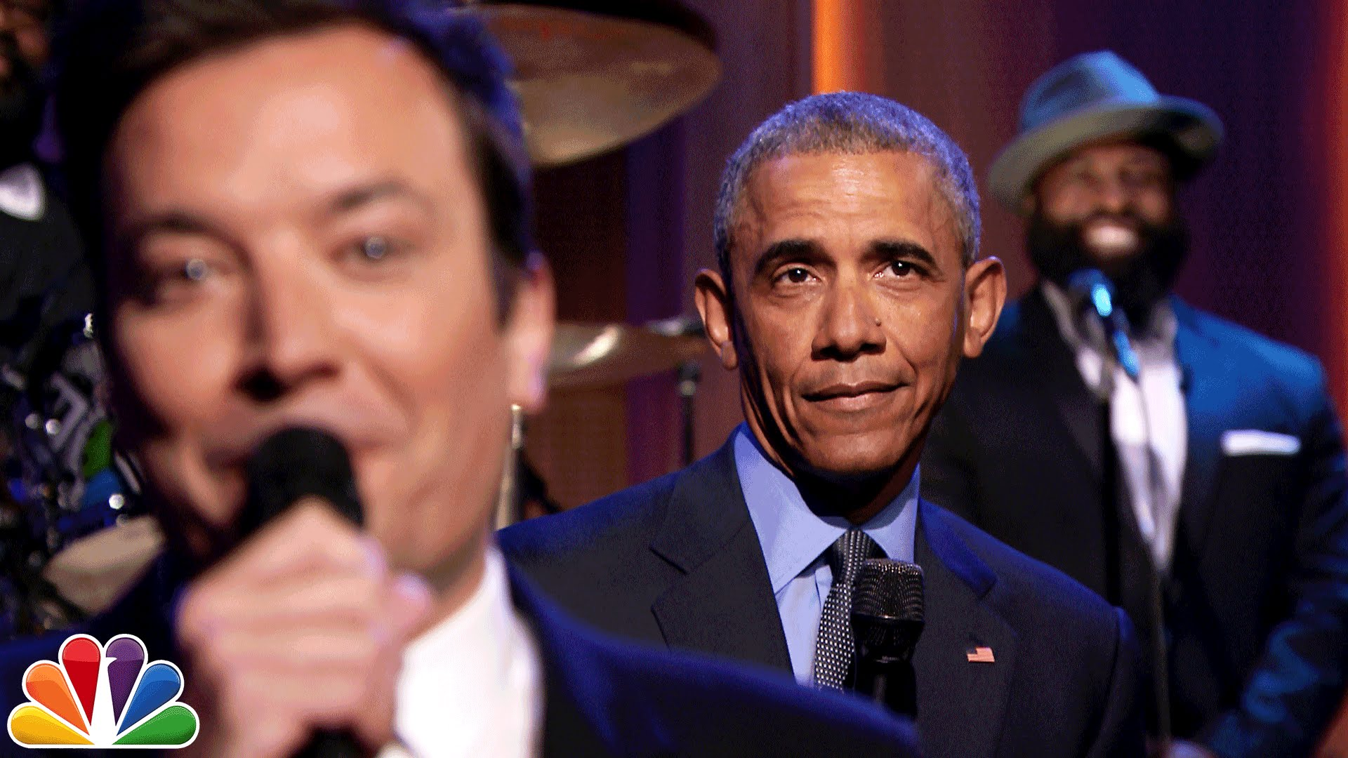 """President Obama """"Slow Jams the News"""" with Jimmy Fallon"""