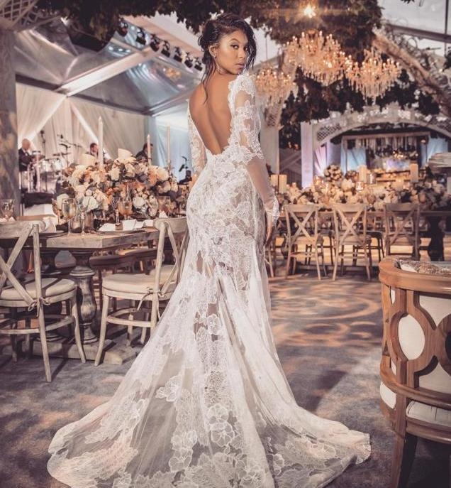 Eniko Parrish Wedding Gown