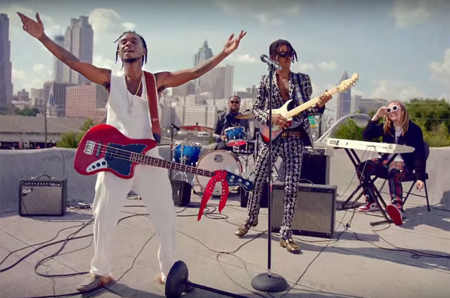 Photo: Rae Sremmurd Black Beatles Video