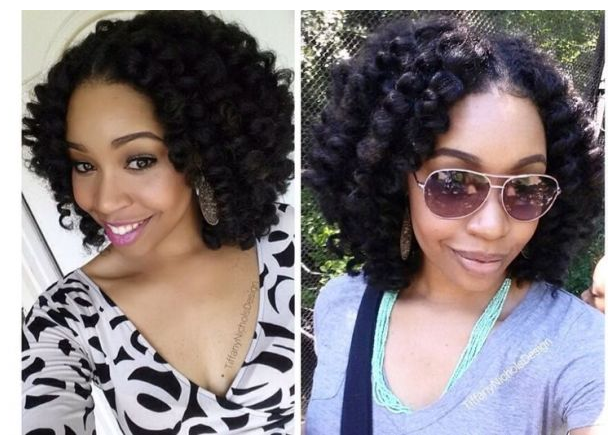 Trending Winter Hairstyles For Black Women Chocolate