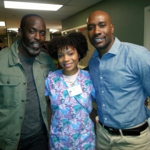 Michael Williams, Morris Chestnut