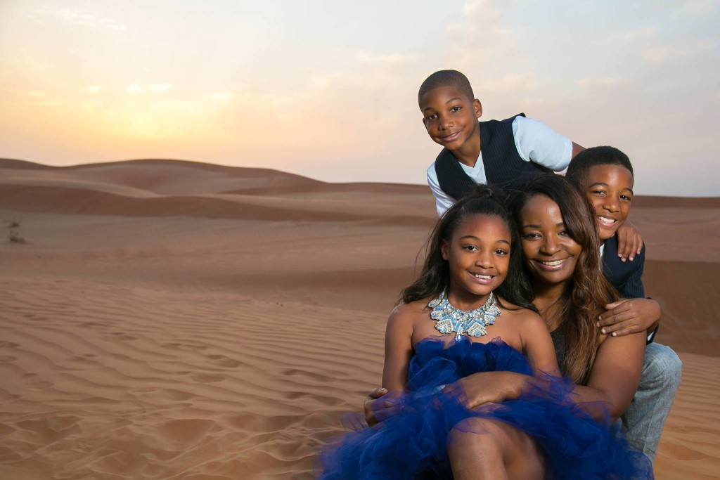 Tanai Benard and Kids