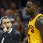 Coach Blatt and LeBron