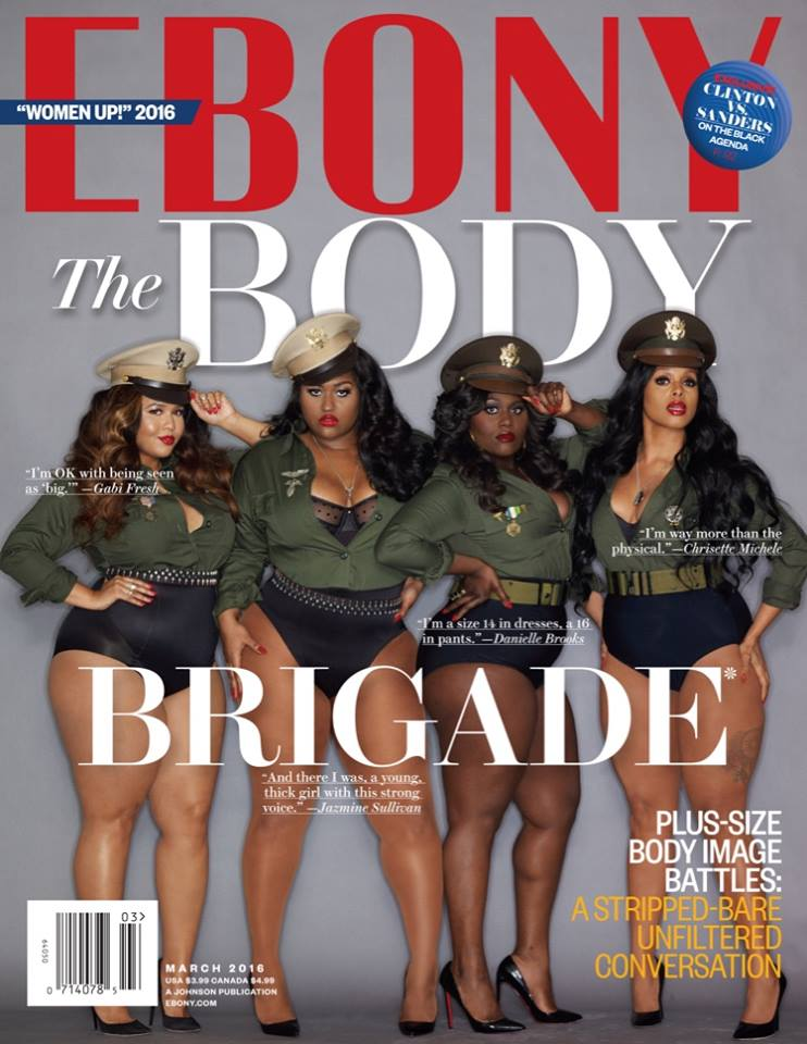 Ebony March Cover