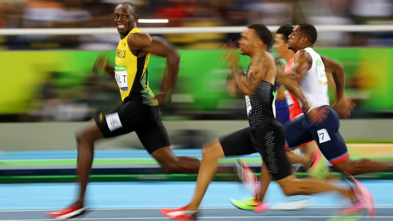 Usain Bolt Smiles