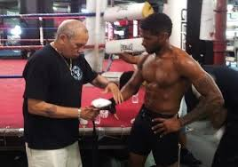 Usher Plays Sugar Ray Leonard